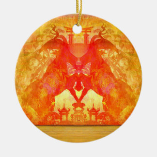 year of the goat Decoration Ceramic Ornament