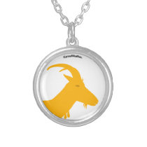 Year of the Goat (Sheep) Silver Plated Necklace