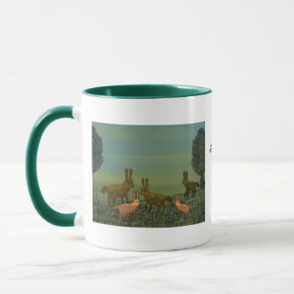 Year of the Golden Rabbit Lullaby Mug