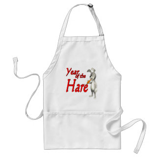 Year Of The Hare Adult Apron