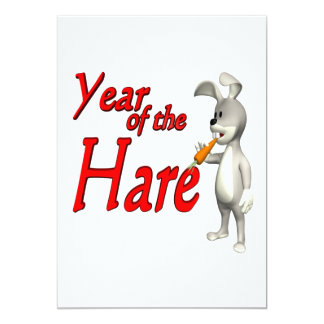 Year Of The Hare Card