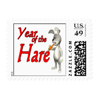 Year Of The Hare Postage Stamp