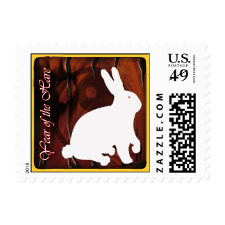 year of the hare postage stamps