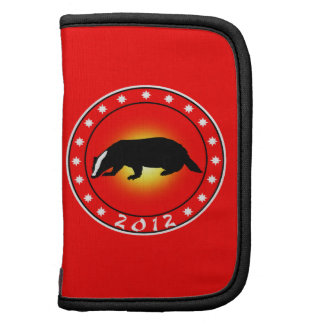 Year of the Honey Badger 2012 Folio Planners