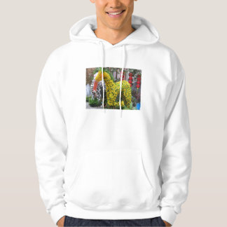 Year of the Horse | 春節馬 ... Chinese Flower Topiary Hoodie