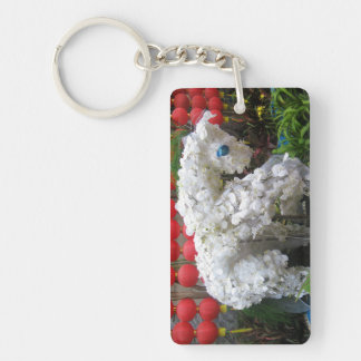 Year of the Horse | 春節馬 ... Chinese Flower Topiary Keychain