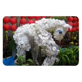 Year of the Horse | 春節馬 ... Chinese Flower Topiary Magnet