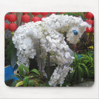 Year of the Horse | 春節馬 ... Chinese Flower Topiary Mouse Pad