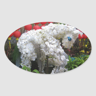 Year of the Horse | 春節馬 ... Chinese Flower Topiary Stickers