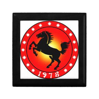Year of the Horse 1978 Keepsake Boxes