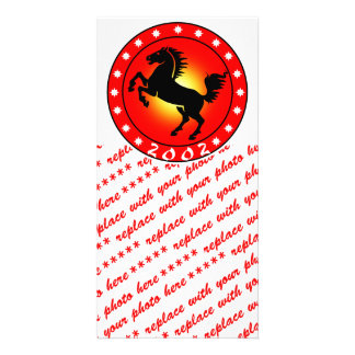 Year of the Horse 2002 Photo Card