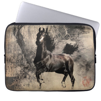 Year of the Horse 2014 - Chinese Painting Art Computer Sleeve