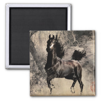 Year of the Horse 2014 - Chinese Painting Art Magnet