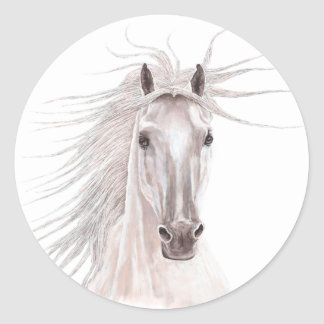 Year of the Horse 2014 Classic Round Sticker