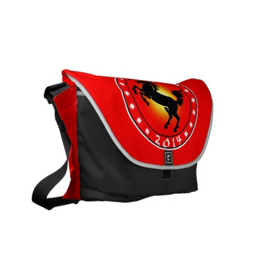 Year of the Horse 2014 Commuter Bag
