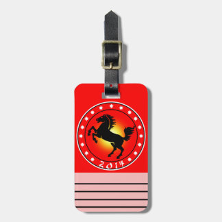 Year of the Horse 2014 Travel Bag Tags