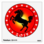 Year of the Horse 2014 Wall Decal