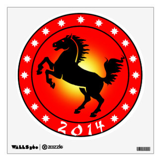 Year of the Horse 2014 Room Graphic