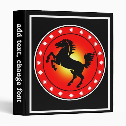 Year of the Horse Binders