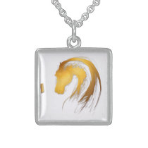 Year of the Horse Birthday Necklace