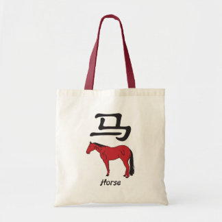 Year of the Horse Budget Tote Bag
