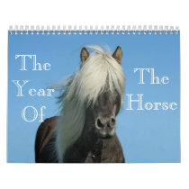 Year Of The Horse Calendar