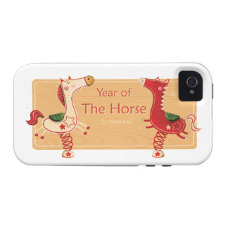 Year of The Horse iPhone 4/4S Cases