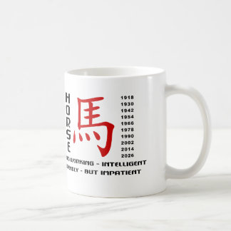Year of The Horse Character Coffee Mug