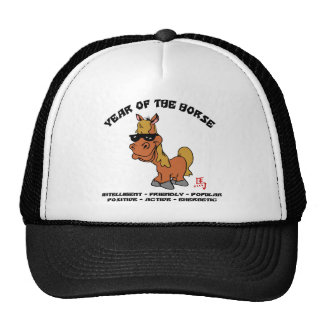 Year of The Horse Characteristics Trucker Hat