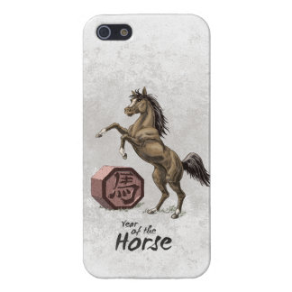 Year of the Horse Chinese Zodiac Animal Art Cover For iPhone 5