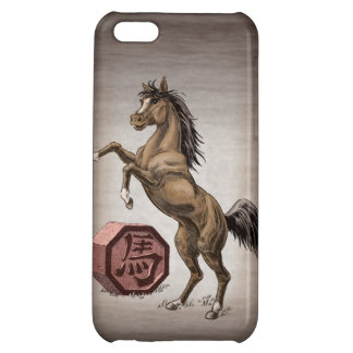 Year of the Horse Chinese Zodiac Animal Art iPhone 5C Covers