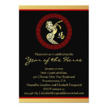 Year of the Horse GR Chinese New Year Party Cards
