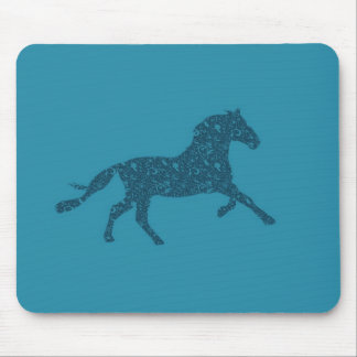 Year Of The Horse Graphic Design Mouse Pad