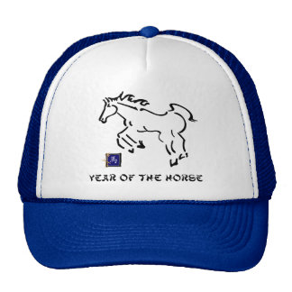 Year of The Horse Trucker Hats