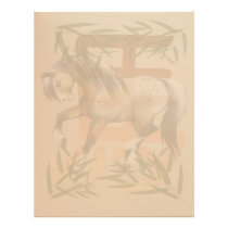 Year Of The Horse letterhead_vertical. Letterhead