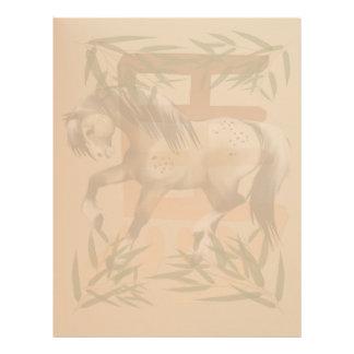 Year Of The Horse letterhead_vertical. Letterhead