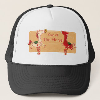 year of the horse.png trucker hat