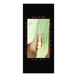Year of the Horse Rack Card