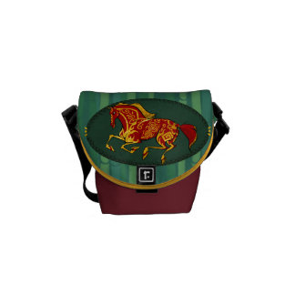 Year of the horse small shoulder bag messenger bag