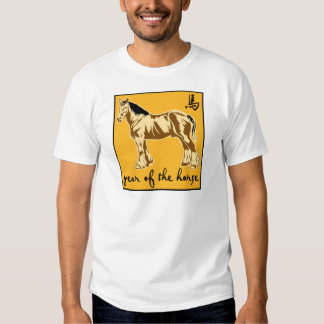 Year Of The Horse T Shirt