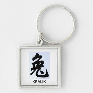 year of the Kralik keychain