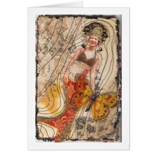 Year of the Mermaid greeting card