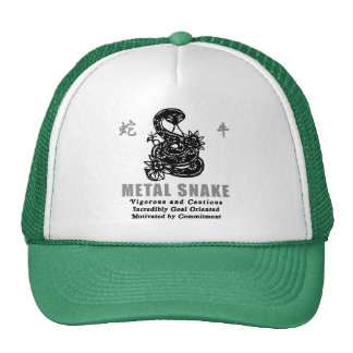 Year of The Metal Snake 1941 2001 Trucker Hat