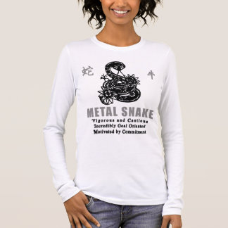 Year of The Metal Snake 1941 2001 Long Sleeve T-Shirt