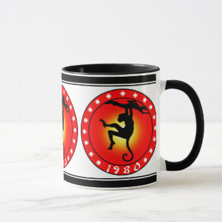 Year of the Monkey 1980 Mug