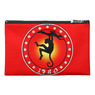 Year of the Monkey 1980 Travel Accessory Bag