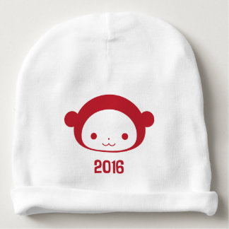 Year of the Monkey 2016 Baby Beanie