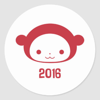 Year of the Monkey 2016 Sticker