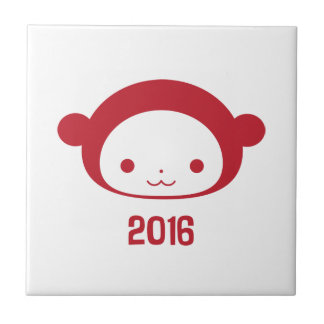 Year of the Monkey 2016 Tile