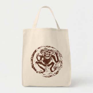 Year of The Monkey Abstract Tote Bag